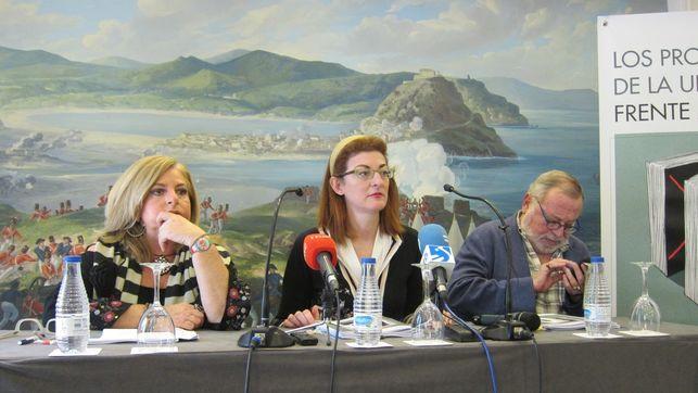 Consuelo Ordoñez, Maite Pagazaurtundua y Fernando Savater