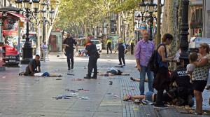 Atentado yihadista en Barcelona.