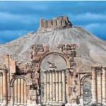 Imagen parcial de la antigua ciudad de Palmira, tomada en 2014