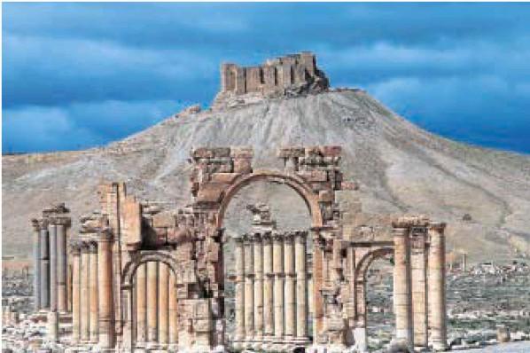 Los yihadistas cercan la ciudad monumental siria de Palmira