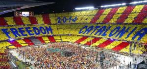 """""""Concert per la llibertat"""" celebrado en el Camp Nou"""