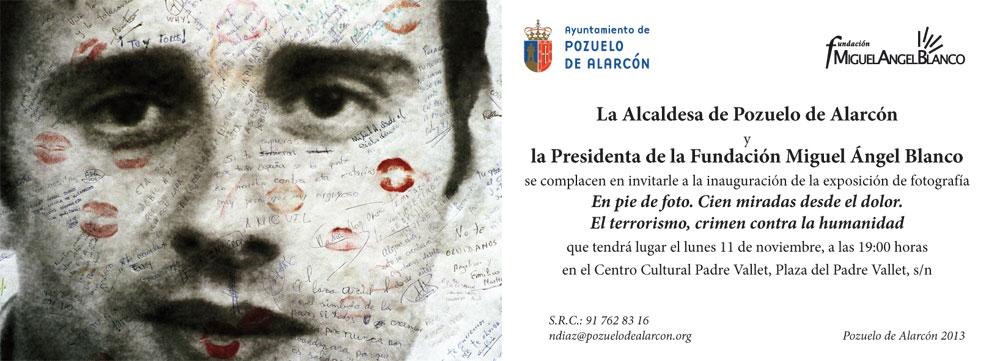 Invitacion a la exposicion-Fundacion Miguel Angel Blanco