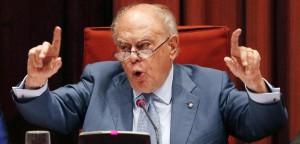 Jordi Pujol, en la comparecencia del Parlament