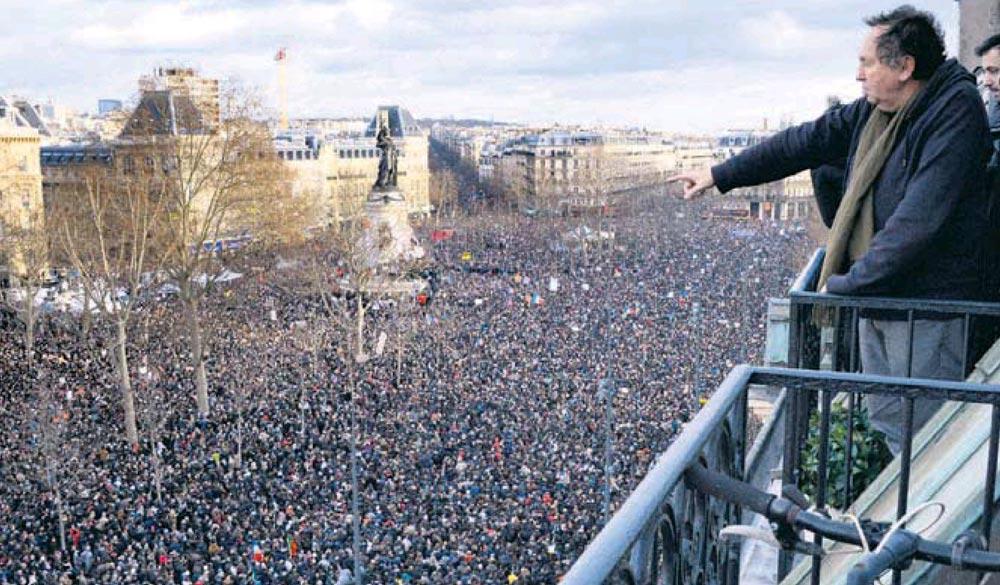 Más de 4 millones de manifestantes responden al terrorismo yihadista en París