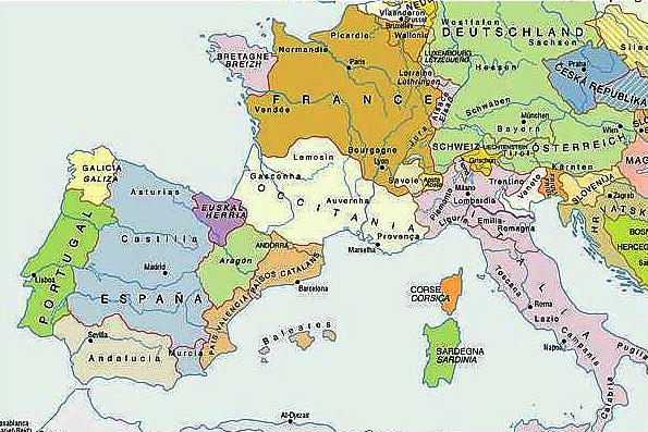 El curioso mapa de Europa de ERC  Fundacin para la Libertad