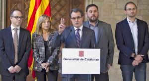 Artur Mas anuncia que la consulta soberanista se celebrará el 9 de noviembre de 2014.
