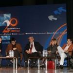 Germán Yanke, Arcadi Espada, Mikel Buesa, Rosa Díez, Hermann Tertch y Francisco Caja
