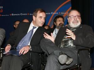 José Antonio Alonso y Fernando Savater